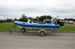 Click to see Used Humber Ocean Pro 5.3m RIB with Mariner 90HP 4 Stroke Engine