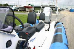 Boat Details – Ribs For Sale - Used Humber Ocean Pro 5.3m RIB with Mariner 90HP 4 Stroke Engine