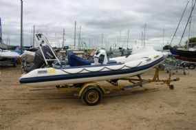 Click to see Used Humber 5.0m RIB with Yamaha 50HP 4 Stroke Engine