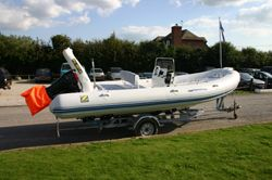 Click to see Used Zodiac Medline 2 Rigid Inflatable Boat / Speed Boat with Suzuki 140HP Engine
