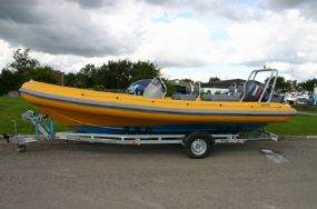 Click to see Used Ribtec 655 with Yamaha 130HP V4 Outboard Engine