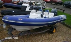 Click to see Avon 5.6m RIB with Yamaha 100HP 4 Stroke Engine