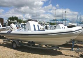 Click to see Ballistic 6.5m RIB with Evinrude 200HP ETEC Engine