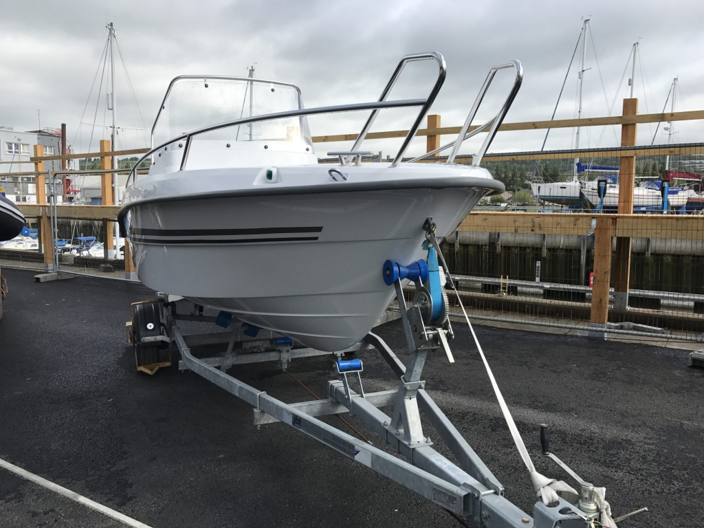 Stock - 1460 - Finnmaster 55 SC Day Boat with Yamaha F70HP Outboard Engine - Trailer and Hull