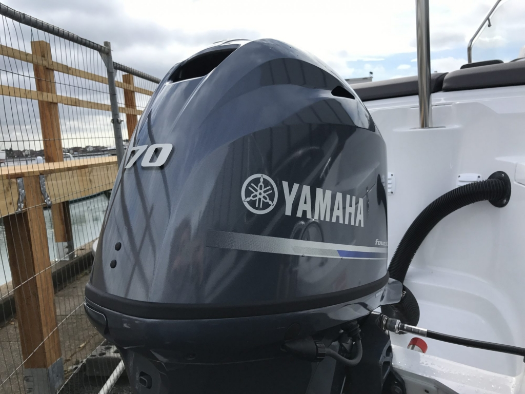 Stock - 1460 - Finnmaster 55 SC Day Boat with Yamaha F70HP Outboard Engine - Yamaha Engine