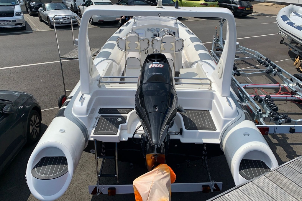 1662 - SKUA 6.5 RIB WITH SUZUKI DF150 ENGINE AND TRAILER_3