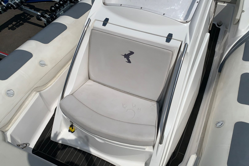 1662 - SKUA 6.5 RIB WITH SUZUKI DF150 ENGINE AND TRAILER_6