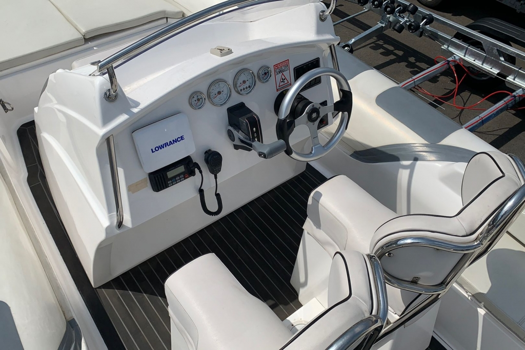 1662 - SKUA 6.5 RIB WITH SUZUKI DF150 ENGINE AND TRAILER_8