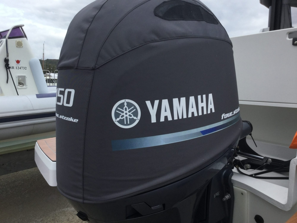 Brokerage - 1433 - Finnmaster P7 Weekend with Yamaha F150 engine - Engine cowling