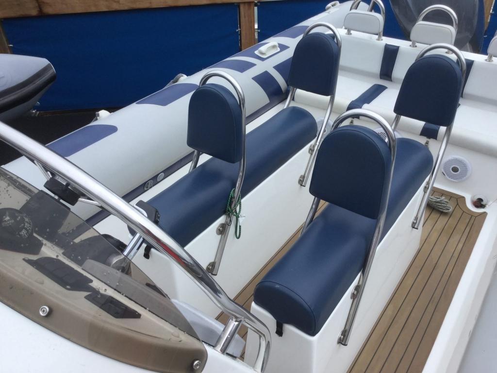 Brokerage - 1526 - Ribeye 785 S RIB with Yamaha F250 engine and trailer - Double jockey seats