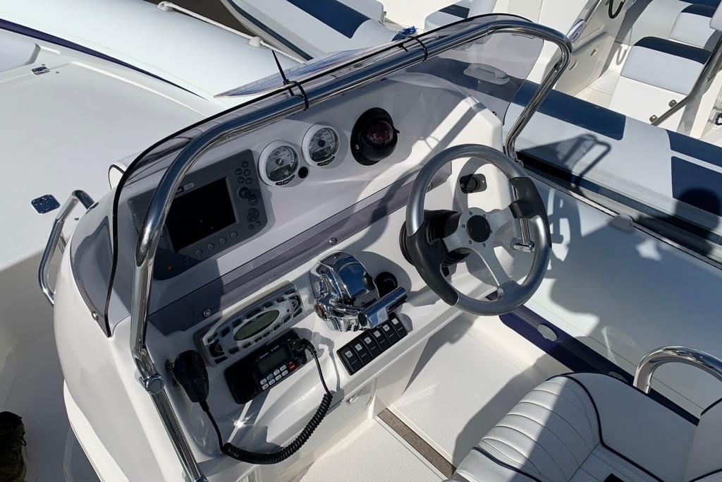 Boat Details – Ribs For Sale - Cobra RIB 8.6 Mercury Verado 275hp 2007