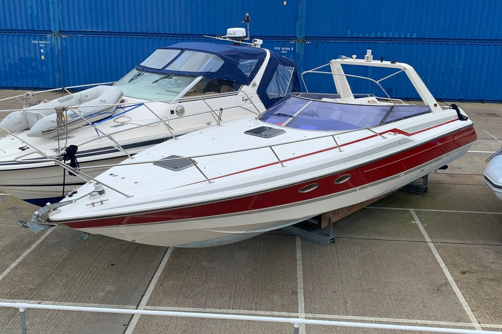 Click to see Sunseeker Tomahawk 37 Sports Cruiser Volvo AD41P 2 x 200 1990