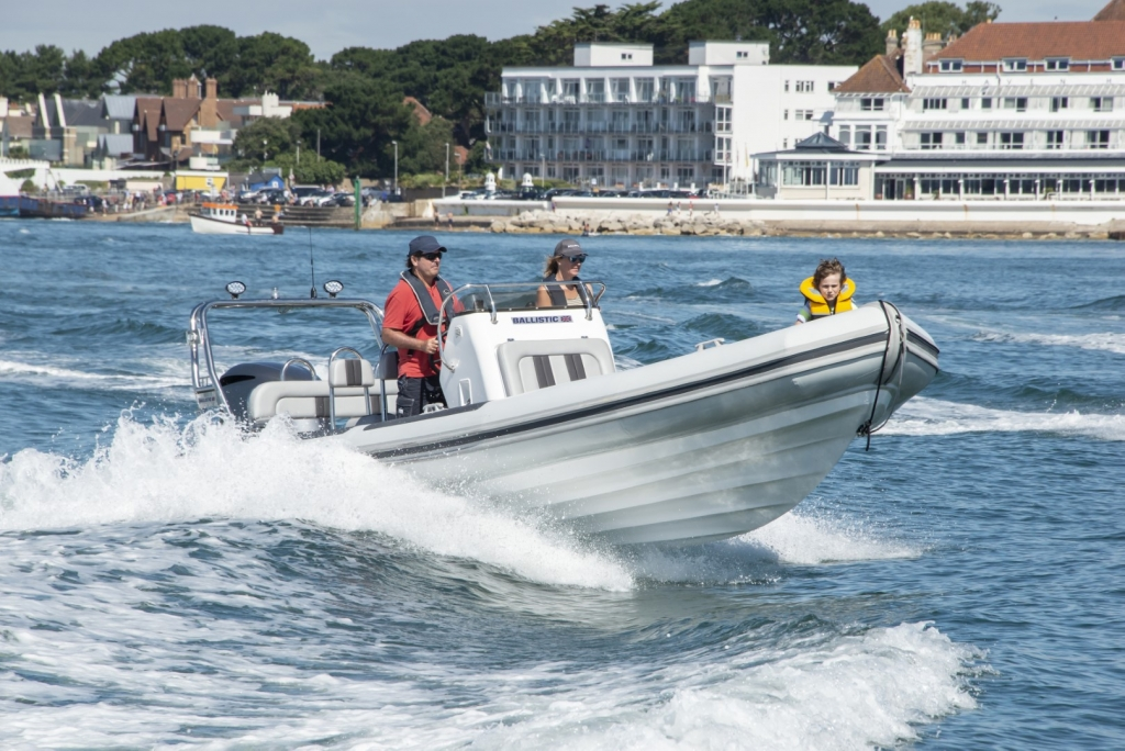 Ballistic 7.8 RIB Yamaha f300 Poole Harbour Entrance August 2018 (Large).jpg