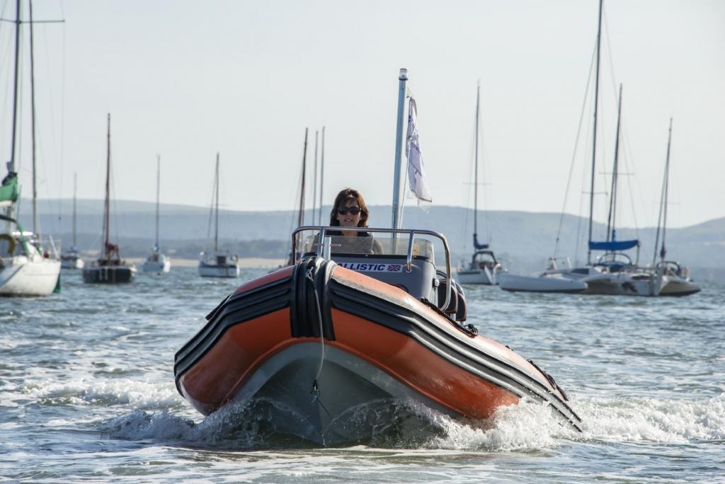 Ballistic 5.5 RIB Launch with Yamaha FT60 engine Poole Harbour 4 (Large).jpg
