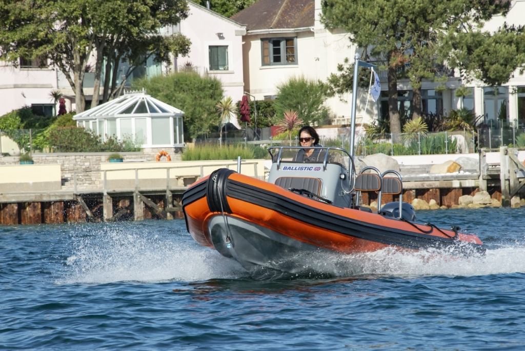 Click to see 2020 Ballistic RIBs 5.5 Club Series Yamaha FT60 High Thrust