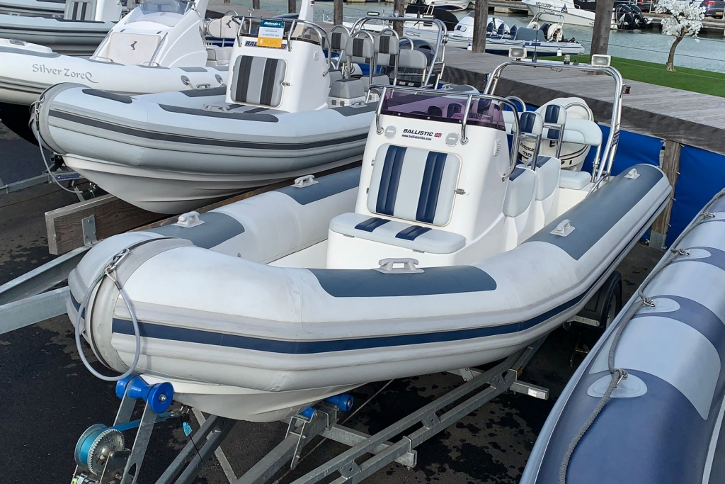 Click to see 2012 (Commision 2015) Ballistic RIB 6 Evinrude ETEC 115