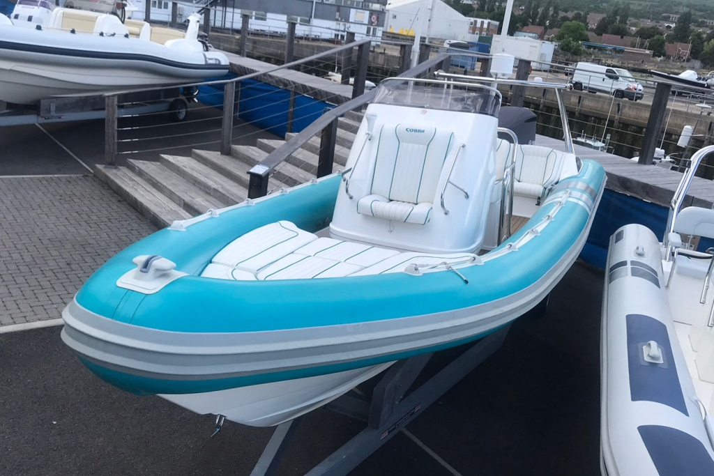 Click to see 2010 Cobra RIB Yamaha  300 engine