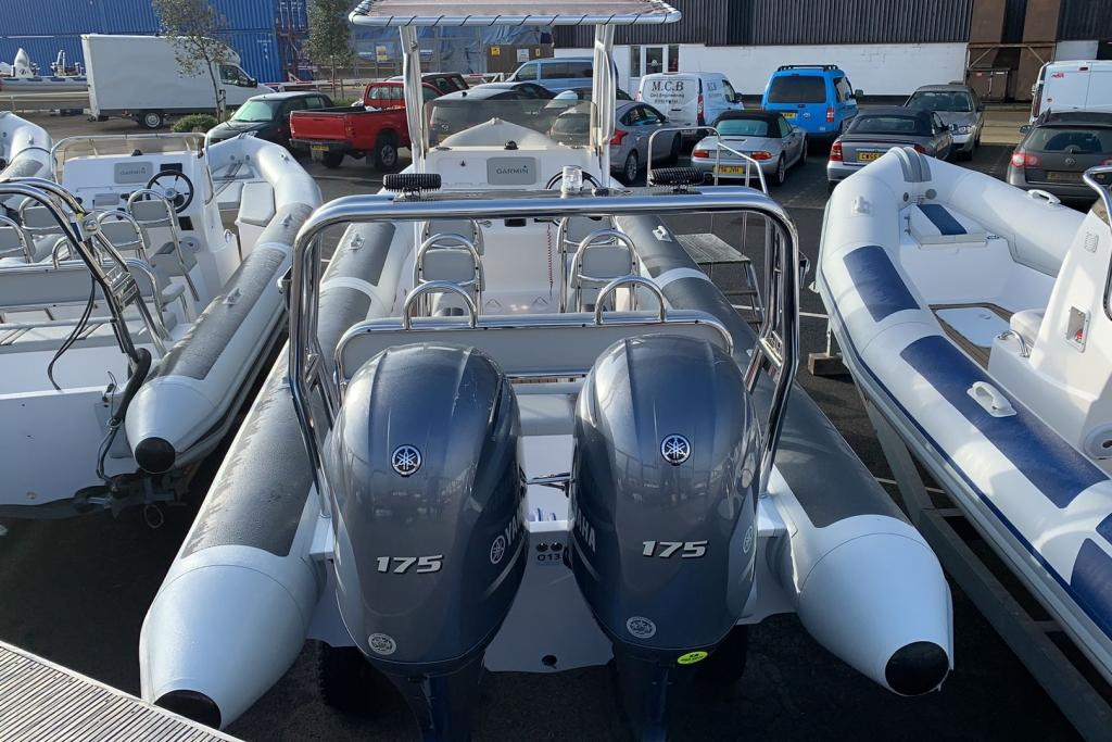 2021 Ballistic RIB Twin rig 7.8 Yamaha 2 x F150 / F175 / F200