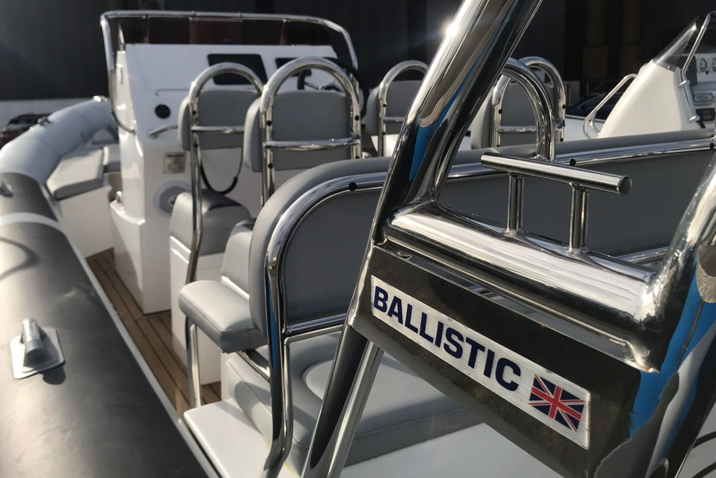 2021 Ballistic RIB 7.8m Yamaha F300