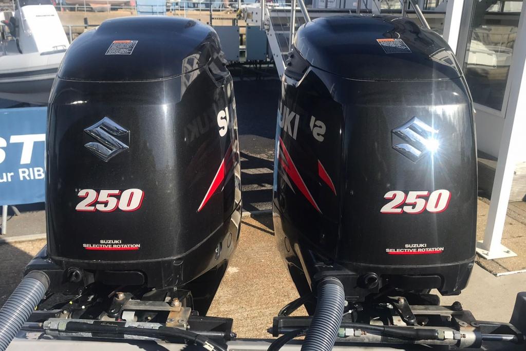 Boat Details – Ribs For Sale - 2015 Ribeye RIB  8.5 Twin Suzuki 250