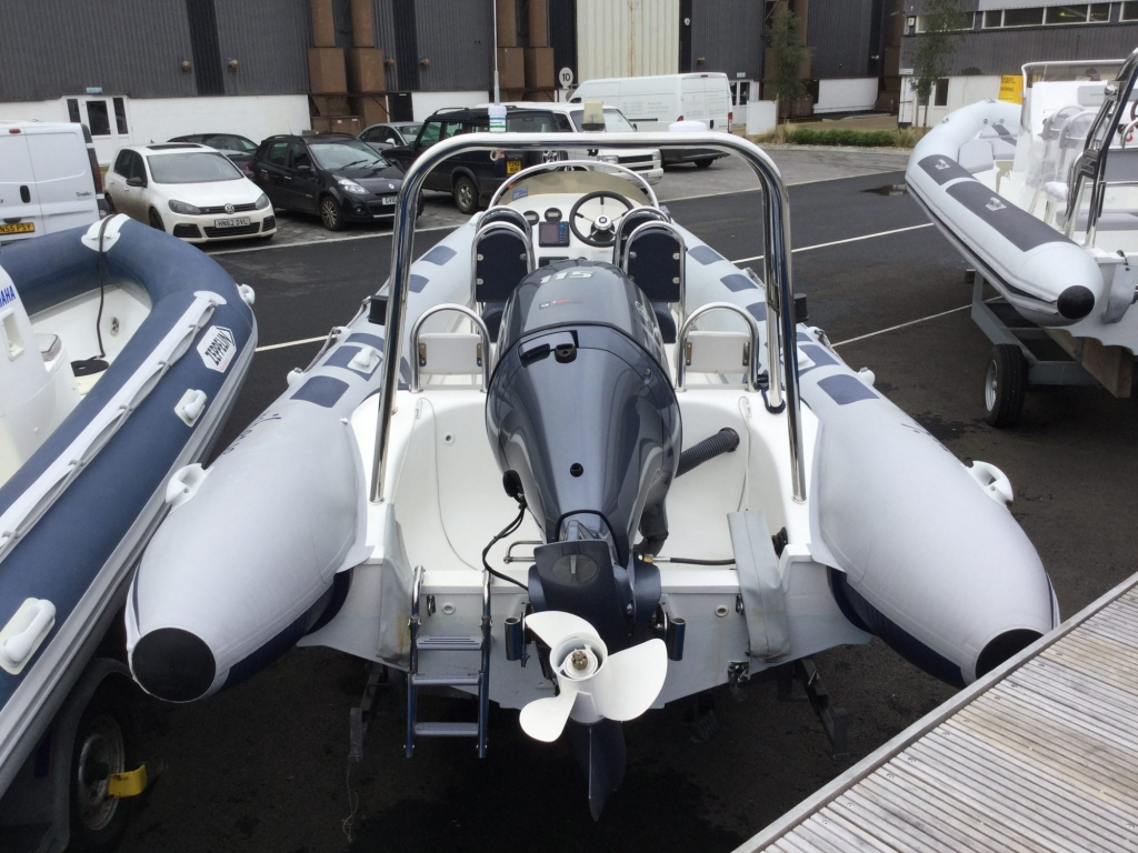 Brokerage - 1552 - Ribeye A600 with Yamaha F115BET engine and trailer - Aft