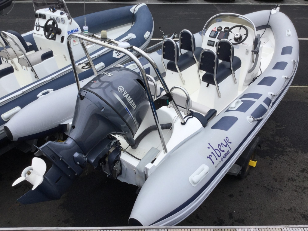 Brokerage - 1552 - Ribeye A600 with Yamaha F115BET engine and trailer - Aft Strbrd 2