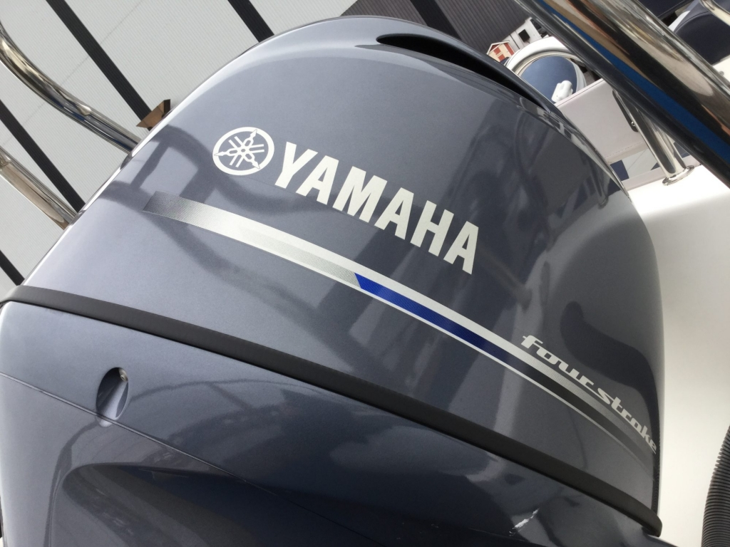 Brokerage - 1552 - Ribeye A600 with Yamaha F115BET engine and trailer - Engine cowling