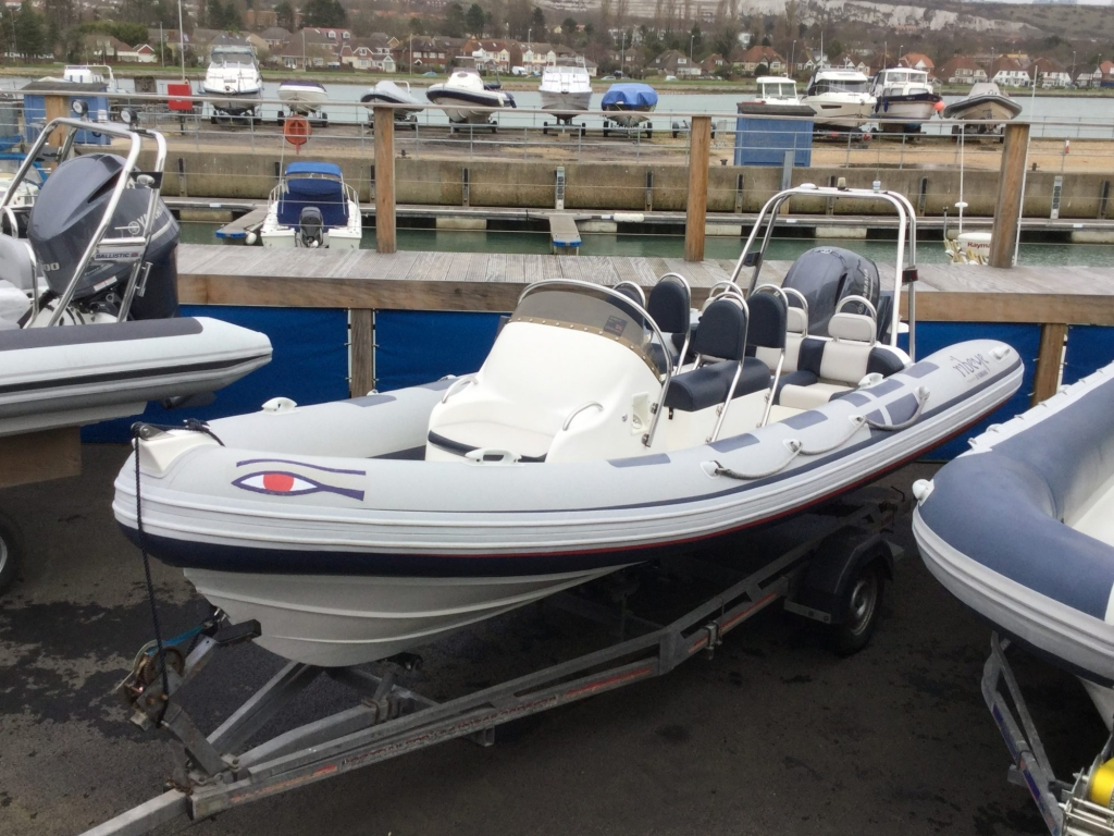 Brokerage - 1552 - Ribeye A600 with Yamaha F115BET engine and trailer - Main shot