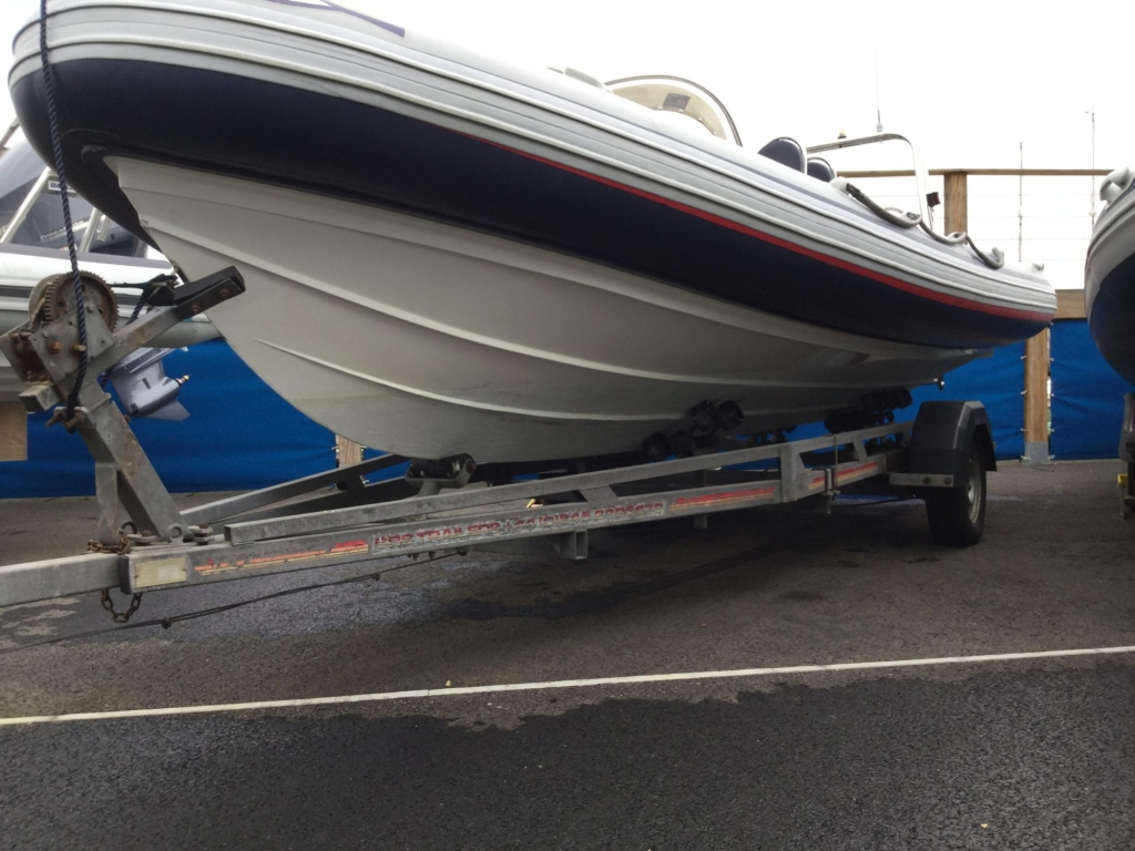 Brokerage - 1552 - Ribeye A600 with Yamaha F115BET engine and trailer - Port Hull
