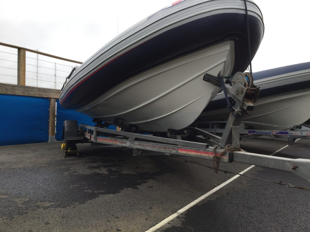 Brokerage - 1552 - Ribeye A600 with Yamaha F115BET engine and trailer - Strbrd hul