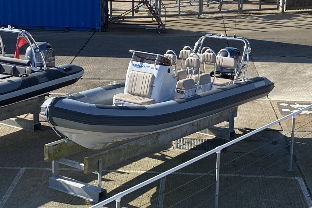Boat Listing - ** Boat of the Month ** 2021 Ballistic RIB 6m 2021 Season Yamaha F130
