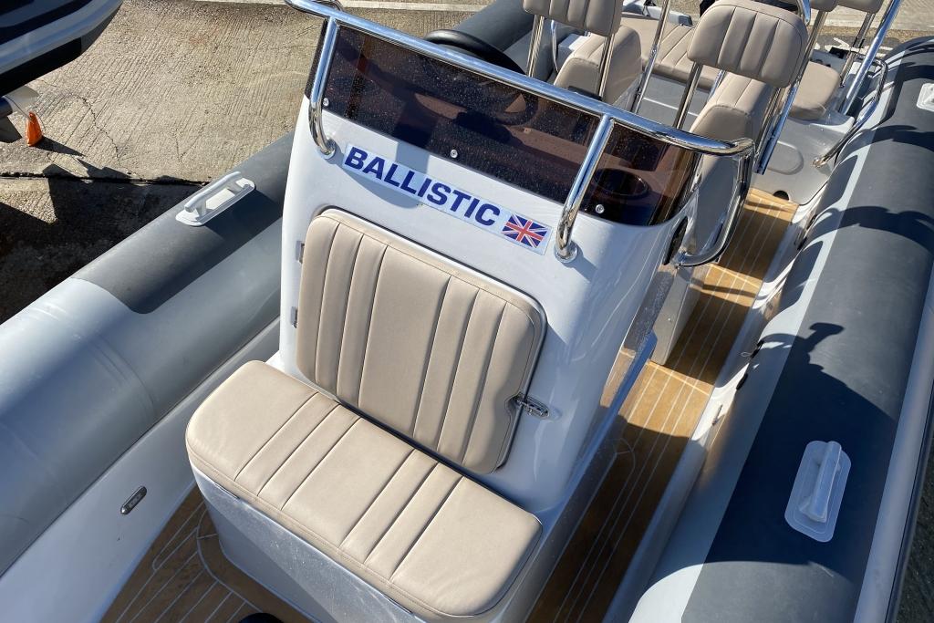 ** Boat of the Month ** 2021 Ballistic RIB 6m 2021 Season Yamaha F130