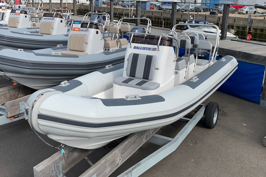 New & Second Hand RIBs & Engines for sale - 2021 Ballistic RIB 6m Yamaha F115