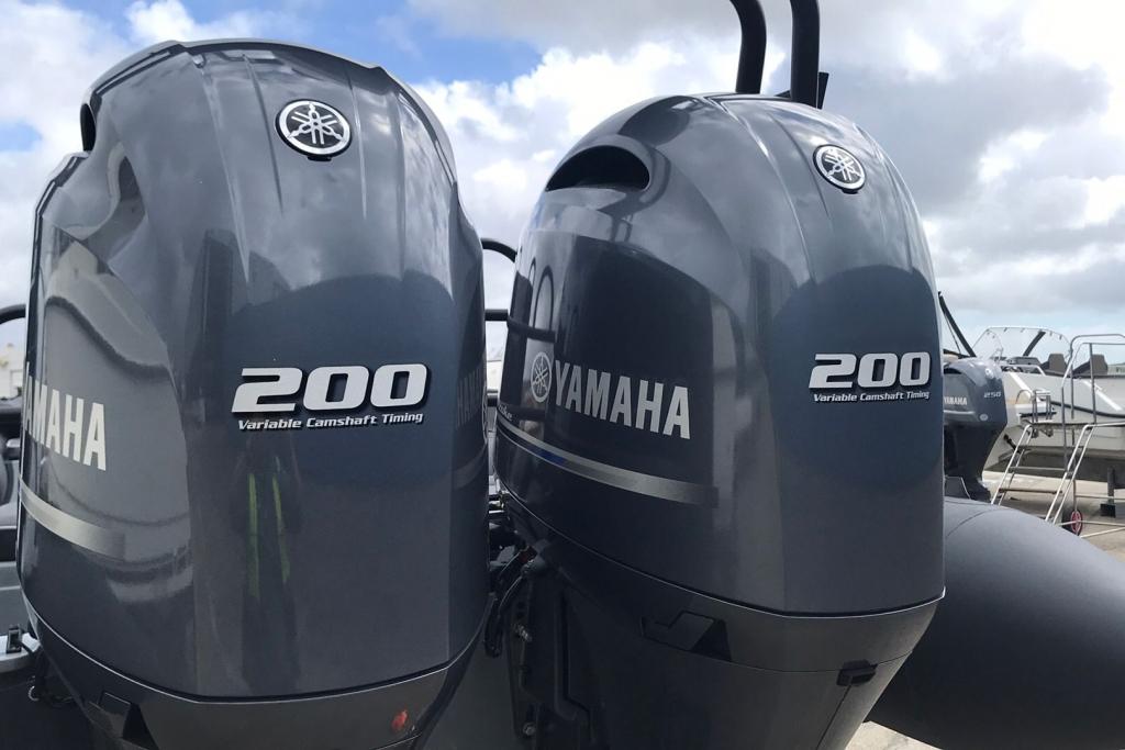Ballistic RIB 2021 7.8 Twin Yamaha F200 Engines Available July 2021