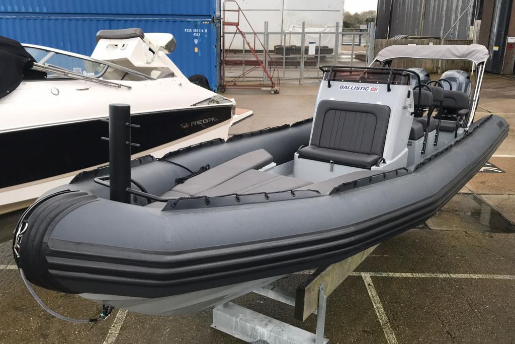 Boat Listing - Ballistic RIB 2021 7.8 Twin Yamaha F200 Engines Available July 2021