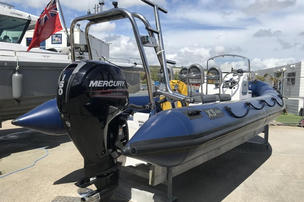 Boat Details – Ribs For Sale - 2012 XS RIB 650 Mercury  150hp engine