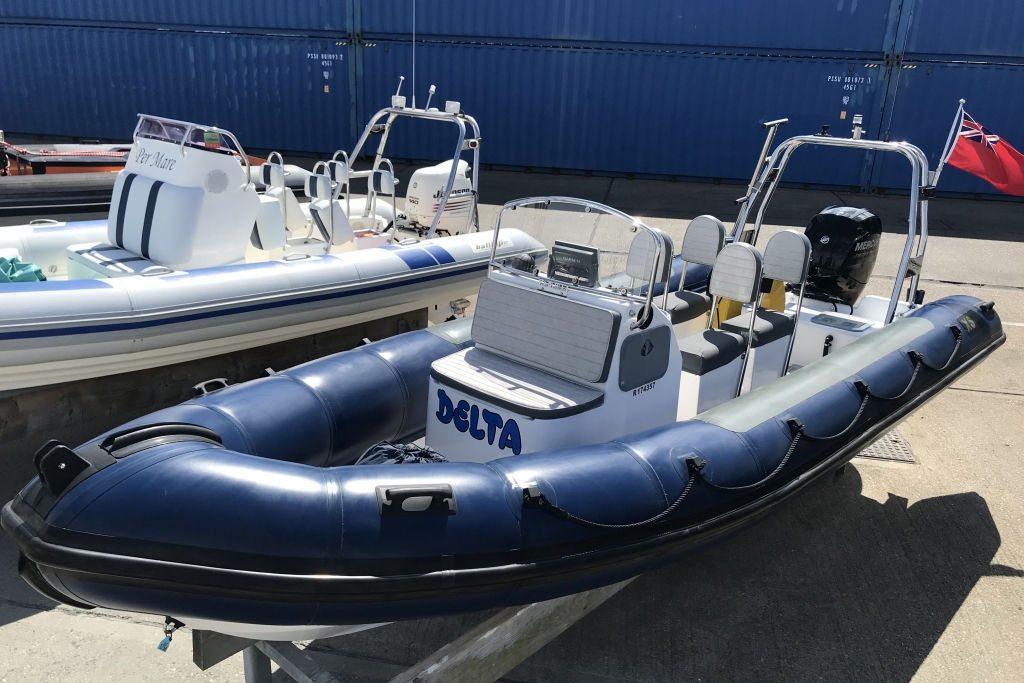 Boat Listing - 2012 XS RIB 650 Mercury  150hp engine