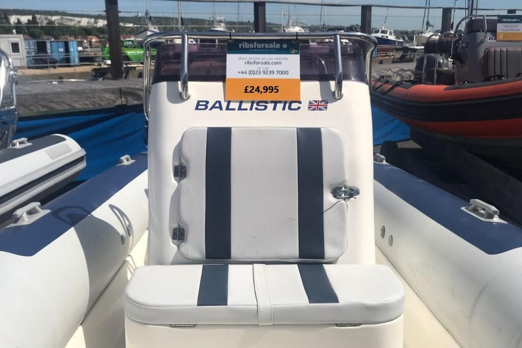 Boat Details – Ribs For Sale - 2006 5.5 Ballistic RIB Evinrude E-TEC 90hp engine
