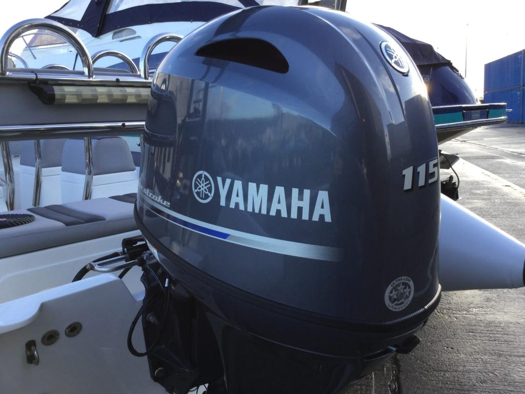 Brokerage - BCT - Ballistic 6m RIB with Yamaha F115BET engine - Engine Cowling