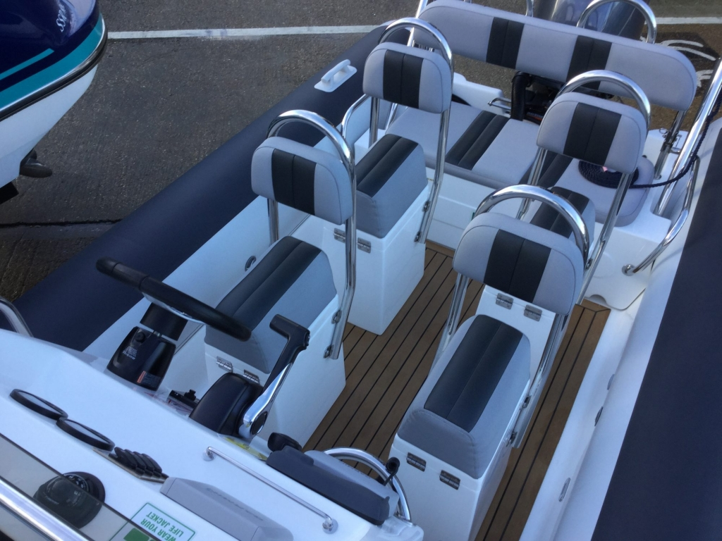 Brokerage - BCT - Ballistic 6m RIB with Yamaha F115BET engine - jockey seats