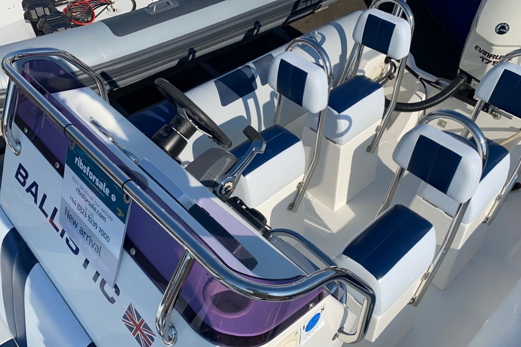 Boat Details – Ribs For Sale - Ballistic RIB 6.5 Evinrude ETEC 175 V6 175