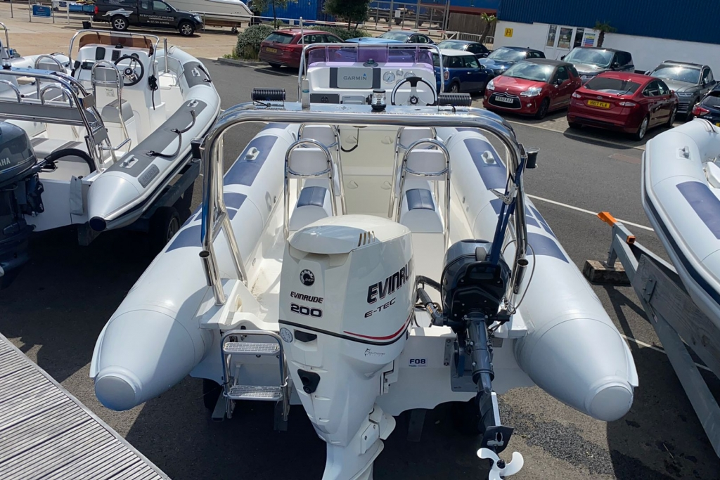 Boat Details – Ribs For Sale - 2006 Ballistic RIB 6.5 Evinrude E-TEC 200