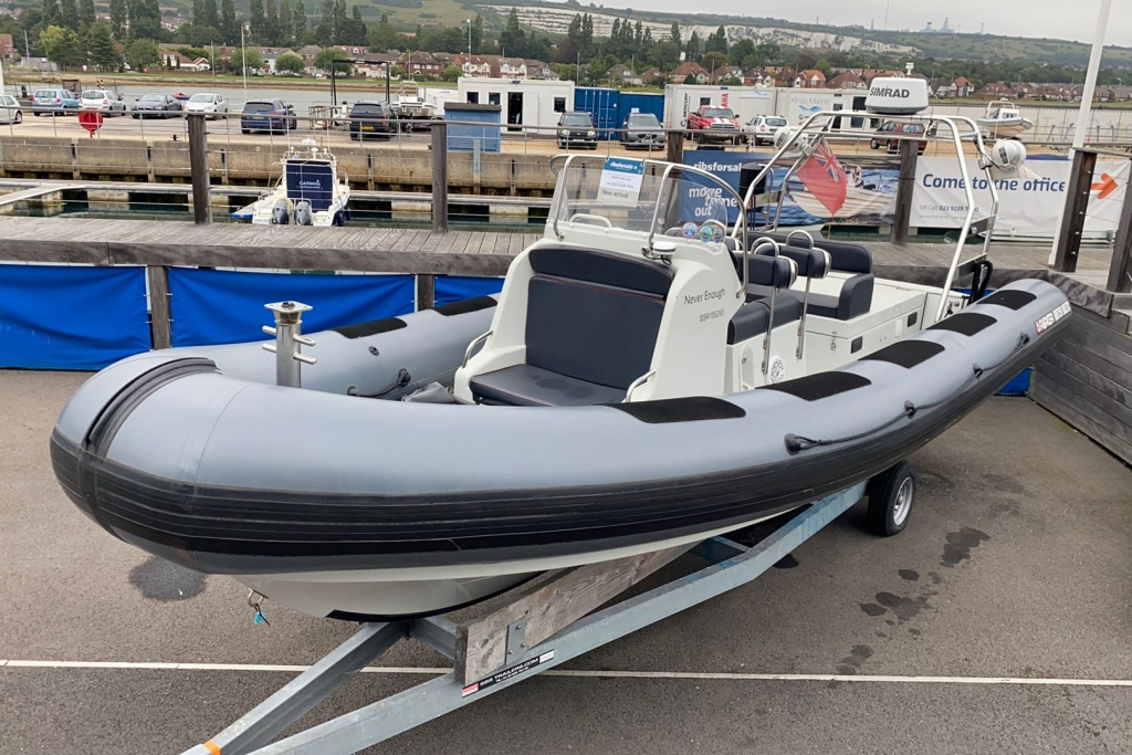 New & Second Hand RIBs & Engines for sale - 2011 Parker Baltic RIB 750 Mercury 320 Diesel