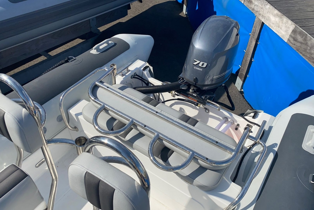 2019 Ballistic RIB 5.5 Club Series Yamaha F70