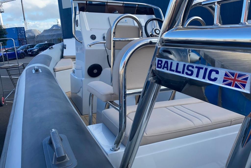 2022 Ballistic RIB 6.5 Yamaha F175