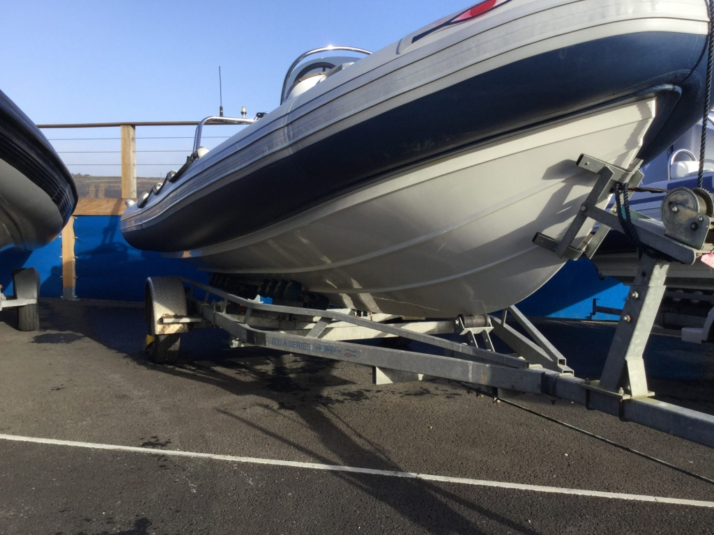 Stock - 1546 - Ribeye A600 RIB with Yamaha F115A engine and trailer - Starboard hull