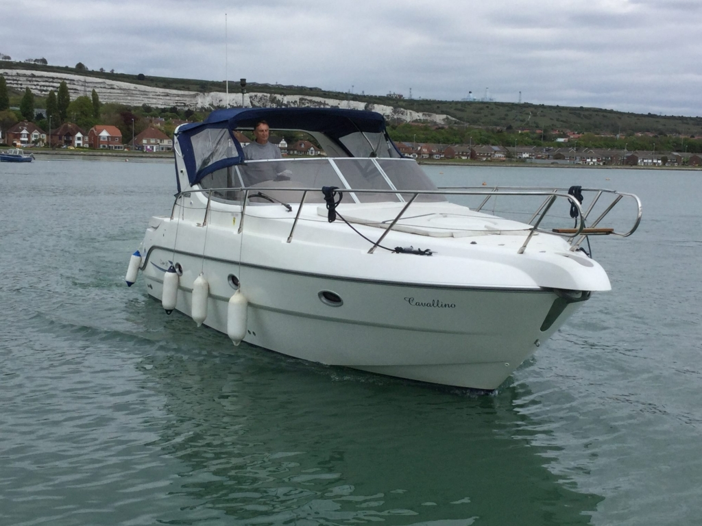 Brokerage - 1495 - Sessa Oyster 30 with Twin Volvo Diesel engines - Coming in