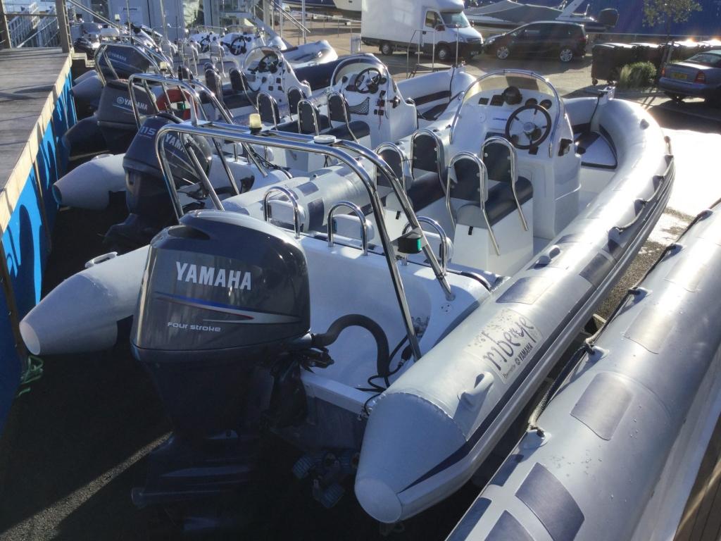 Stock - 1550 - Ribeye 650S RIB with Yamaha F150AET engine - Aft strbrd 2