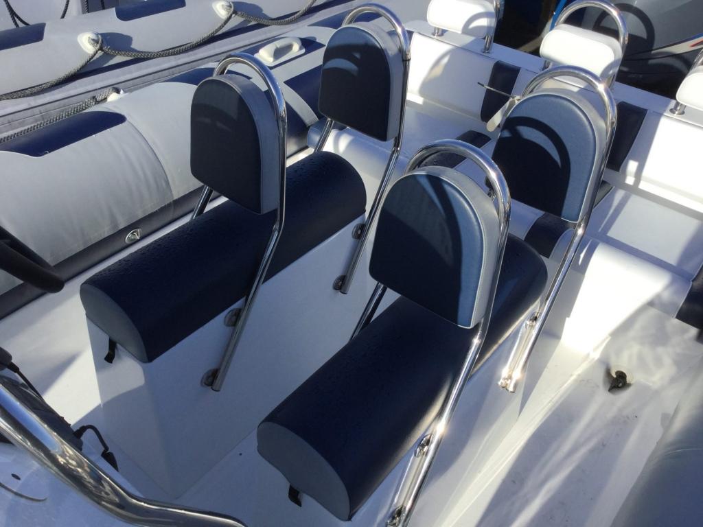 Stock - 1550 - Ribeye 650S RIB with Yamaha F150AET engine - Jockey seats