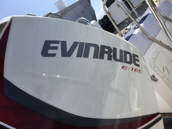 stock - 1323 - ballistic 6.5 (wigan) with evinrude 150hp outboard - etec 150_l